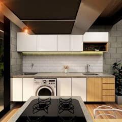 Small kitchens by DOCA arquitetura