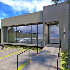 comercial aeroporto, 495m², bauru-sp: Edifícios comerciais  por DOCA arquitetura