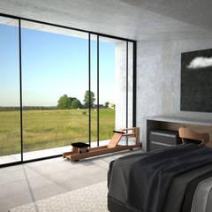 Habitaciones pequeñas de estilo  por Depcon
