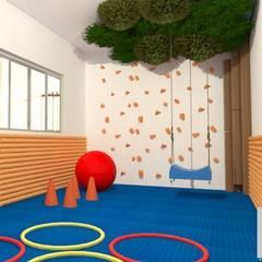 CLINICA INFANTIL: Clínicas  por Francielle Calado Arquitetura
