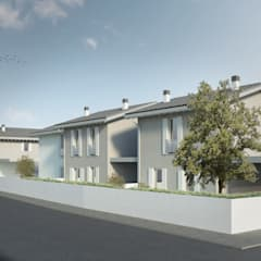 Condominios de estilo  por MF Visualization,