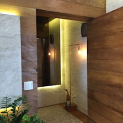 Puertas de entrada de estilo  por ABBITÁ arquitetura