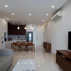 RE Apartment Unit:  Ruang Keluarga by TIES
