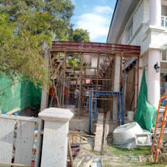 Detached home by ก.ศรีก่อสร้าง, Asian