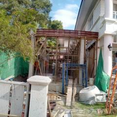 Detached home by ก.ศรีก่อสร้าง
