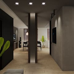 Corridor & hallway by Wide Design Group