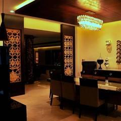 غرفة السفرة تنفيذ Xception the design studio, كلاسيكي