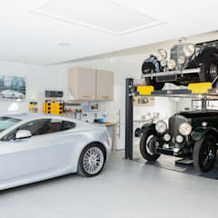 Stunning Garage Transformation in Buckinghamshire من Garageflex كلاسيكي