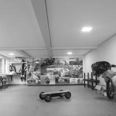 Garajes y galpones de estilo  por Lozí - Projeto e Obra