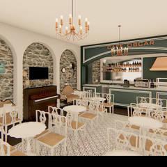 مطاعم تنفيذ Traço M - Arquitectura