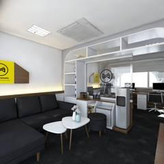PUTRA PADJAJARAN MANDIRI Interior design: Kantor & toko oleh viku,