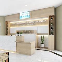 Dinas Perpustakaan Jawa Barat: Kantor & toko oleh viku,