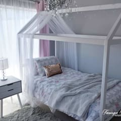 Princess Room:  Bedroom by Tamsyn Fowler Interiors