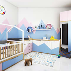 Bedroom Interior:  Kamar Bayi & Anak by viku