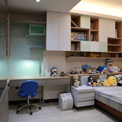 Boys Bedroom by 沐寬室內裝修設計有限公司