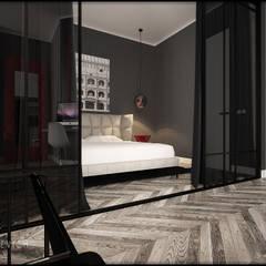Petites chambres de style  par Дизайн интерьера от Юлии Ю.