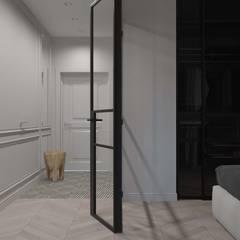 Industrial corridor, hallway & stairs by OM DESIGN Industrial