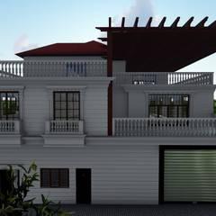 ID İNŞAAT-İBRAHİM DALGACIOĞLU – Villa Projesi :  tarz Dükkânlar