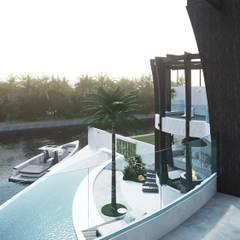 Terrace house by Антон Васьков,