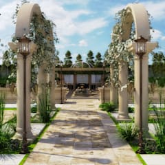 Classical Beauty landscape design:  Garden by dal design office,