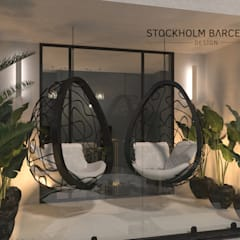 Hotels توسطStockholm Barcelona Design - Interioristas en Barcelona, مدرن