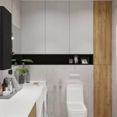 Квартира в Екатеринбурге (ул. Шейнкмана, 90): Ванные комнаты в . Автор – Наташа Бердникова