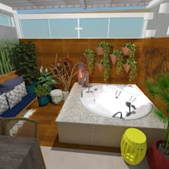 Hot Tubs by Ruby Interiores,