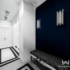 Hol w apartamencie : styl , w kategorii Korytarz, przedpokój zaprojektowany przez Wkwadrat Architekt Wnętrz Toruń