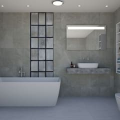 Bathroom by 'Design studio S-8'