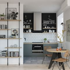Small kitchens by OM DESIGN, Scandinavian