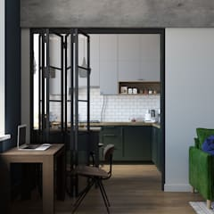 Small kitchens by OM DESIGN