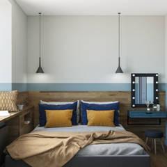 Habitaciones pequeñas de estilo  por OM DESIGN
