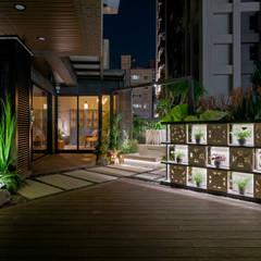 Projekty,  Podłogi zaprojektowane przez 大地工房景觀公司