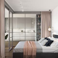 Petites chambres de style  par OM DESIGN