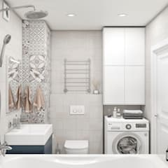 Bathroom by OM DESIGN, Scandinavian