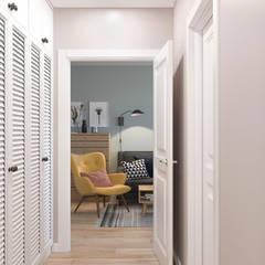Corridor & hallway by OM DESIGN, Scandinavian