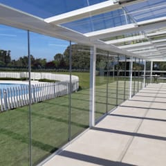 Balcony by ALLGLASS CONFORT SYSTEM