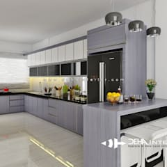 Kitchen by deha interior pekanbaru