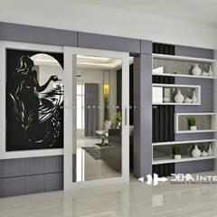 Project Thomin Shu: Ruang Keluarga oleh deha interior pekanbaru, Modern