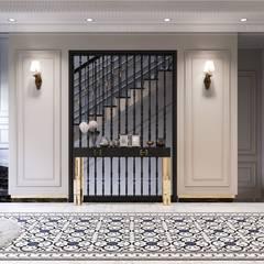 Phong cách Tân cổ điển trong nội thất biệt thự Lavila - ICON INTERIOR:  Phòng giải trí by ICON INTERIOR