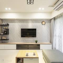 Modern walls & floors by 元作空間設計 Modern
