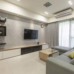 CAI House‧鳳凰時代:  牆面 by 元作空間設計