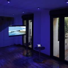 Ruang Fitness oleh Domonova Soluciones Tecnológicas para tu vivienda en Madrid
