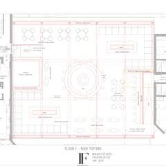 飯店 by Inêz Fino Interiors, LDA, 地中海風