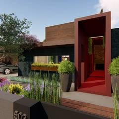 Moradia Modelo Casas ecléticas por Ecocriações Unip. Lda Eclético