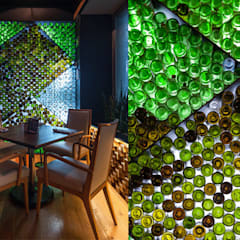 Modern gastronomy by Onno Arquitectos Modern Glass