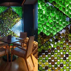 โดย Onno Arquitectos โมเดิร์น กระจกและแก้ว