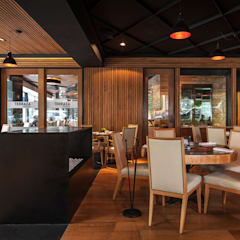 Gastronomy by Onno Arquitectos, Colonial Wood Wood effect