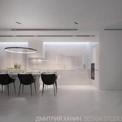 Квартира в ЖК Кольцо Екатерины : Встроенные кухни в . Автор – Dmitriy Khanin
