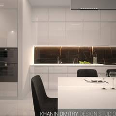 Квартира в ЖК Донской Олимп : Встроенные кухни в . Автор – Dmitriy Khanin